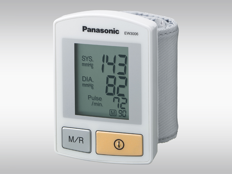 panasonic diagnostec ew3006 handgelenk blutdruckmessger t. Black Bedroom Furniture Sets. Home Design Ideas